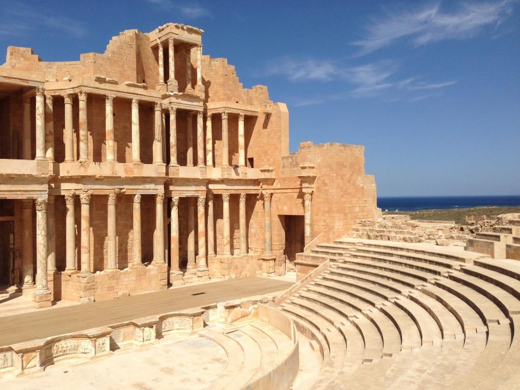 Libya postcard