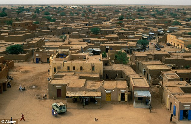 Niger houses