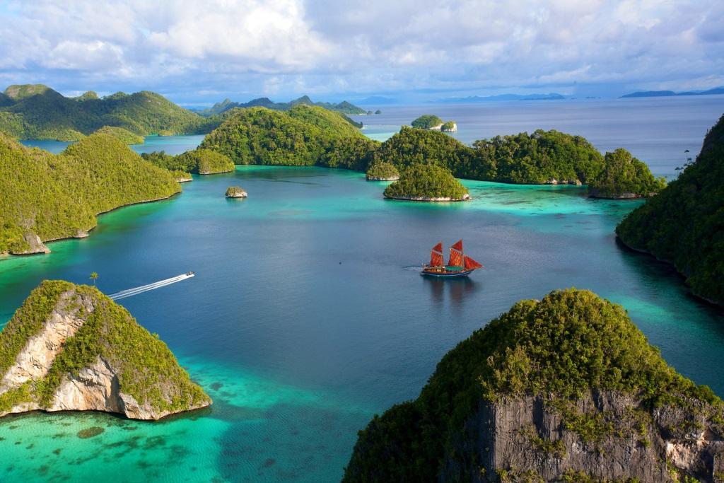 Java Island scenery