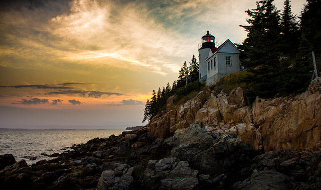 Mount Desert Island lighthouse