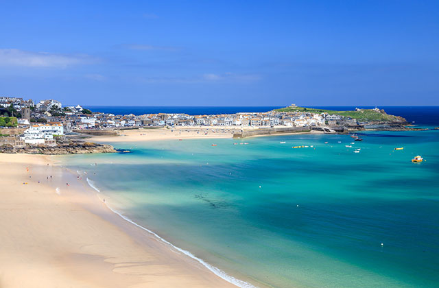 St-Ives-Cornwall-England-Uk
