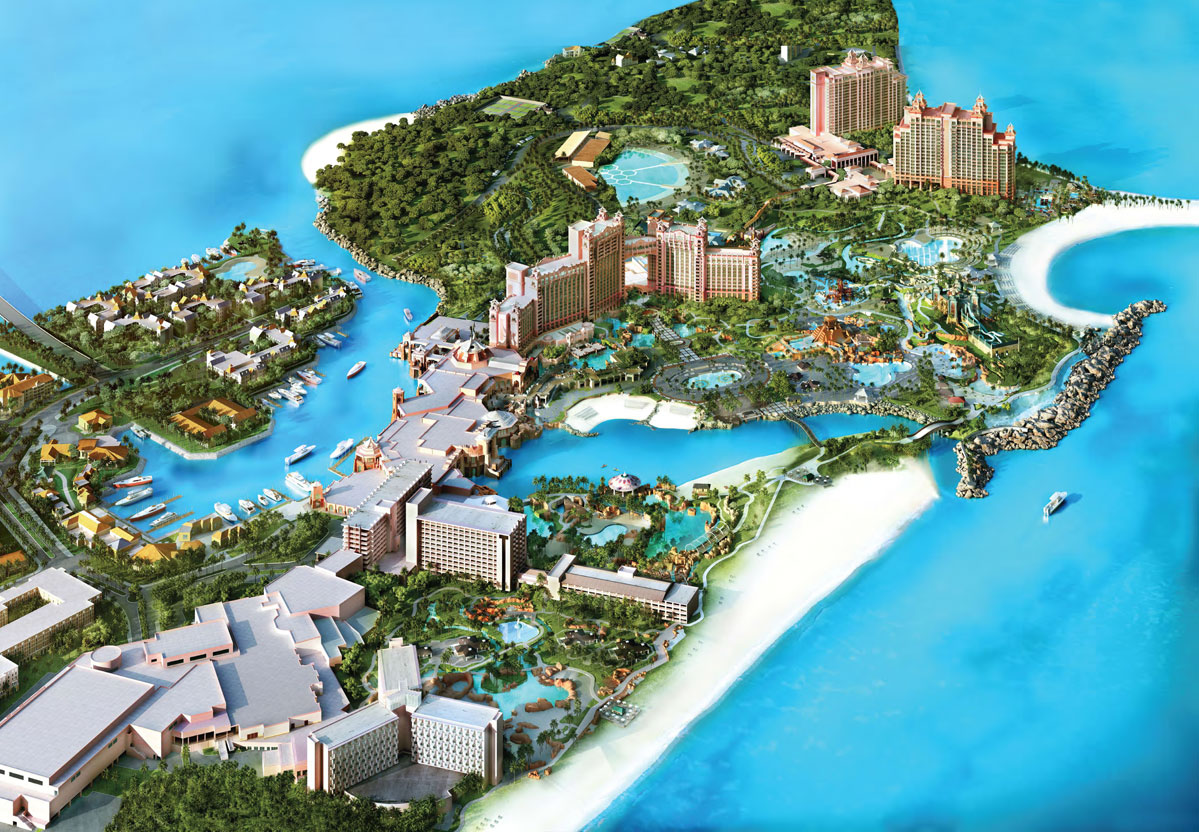 Atlantis Paradise Island Bahamas Tourist Destinations – Bahamas Tourist Attractions Map