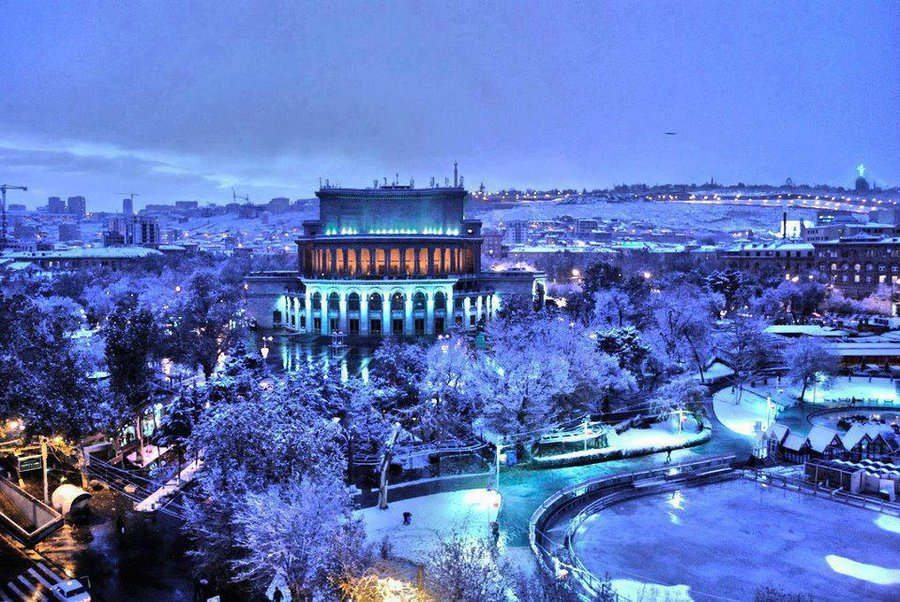 Yerevan armenia tourist destinations for Warm destinations in march