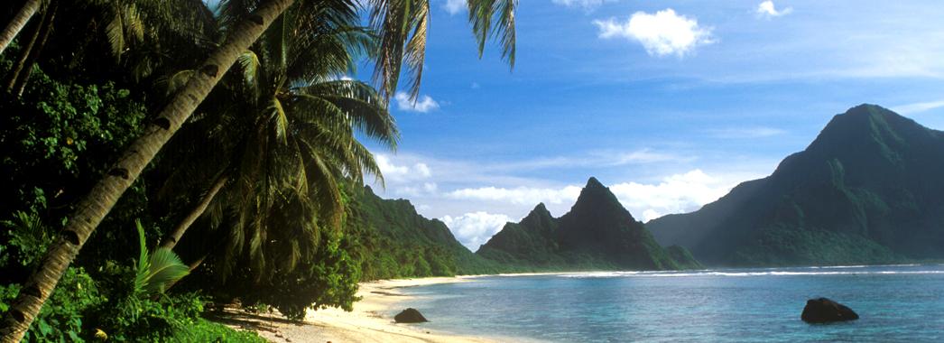BCH47H Ofu Island in American Samoa