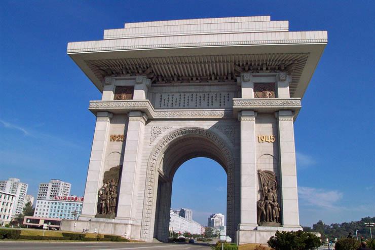 ArchOfTriumphPyongyang