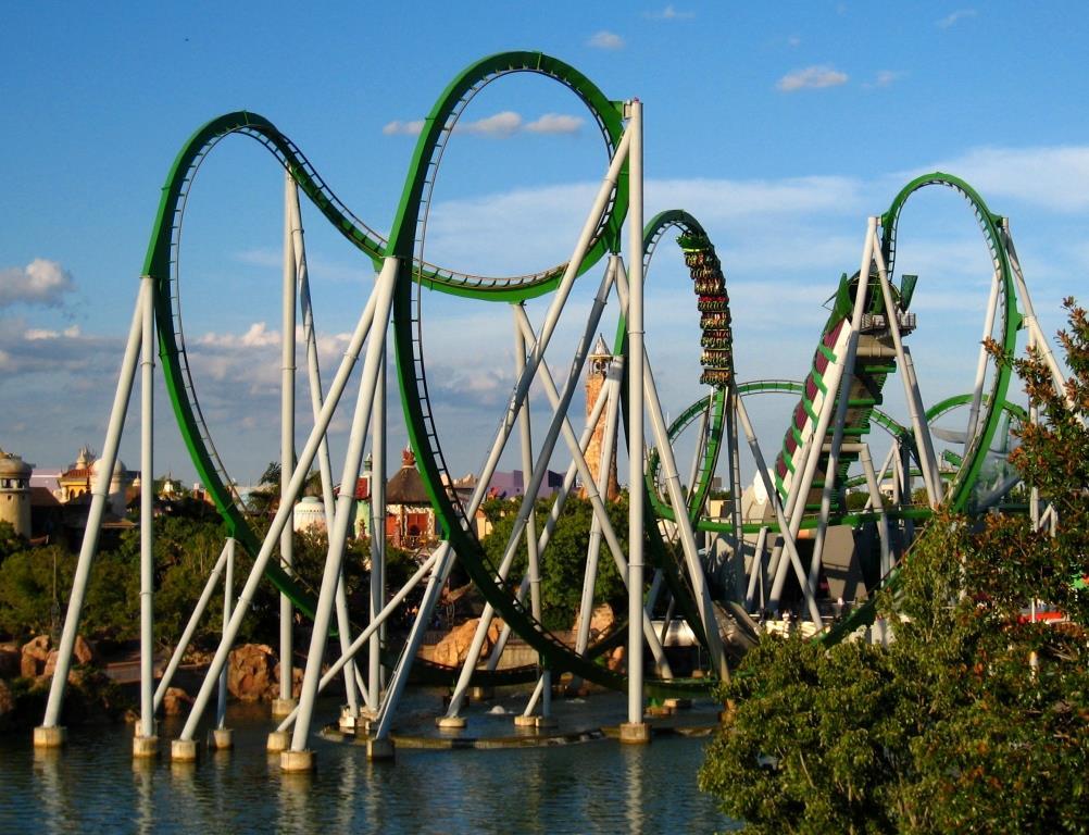 Florida's Best Roller Coasters