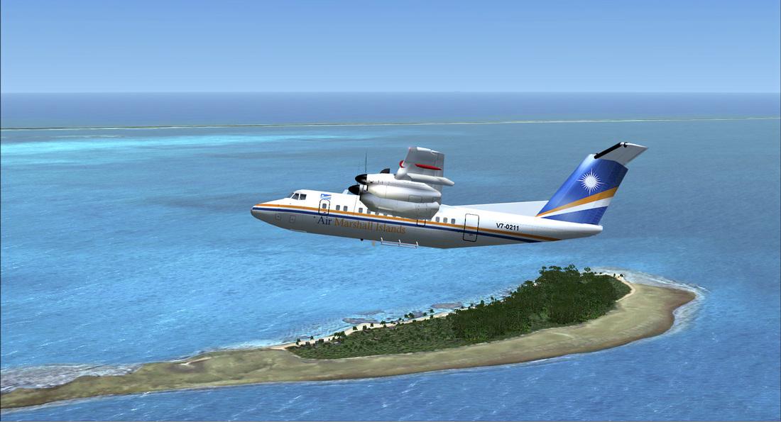Majuro-plane