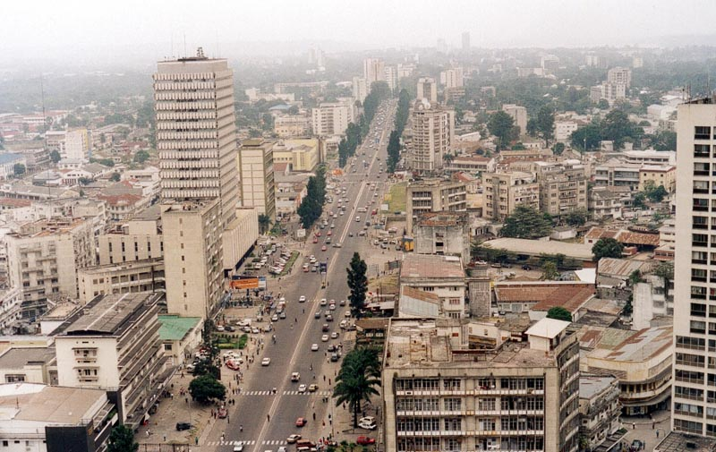 Kinshasa (skyscrapers)