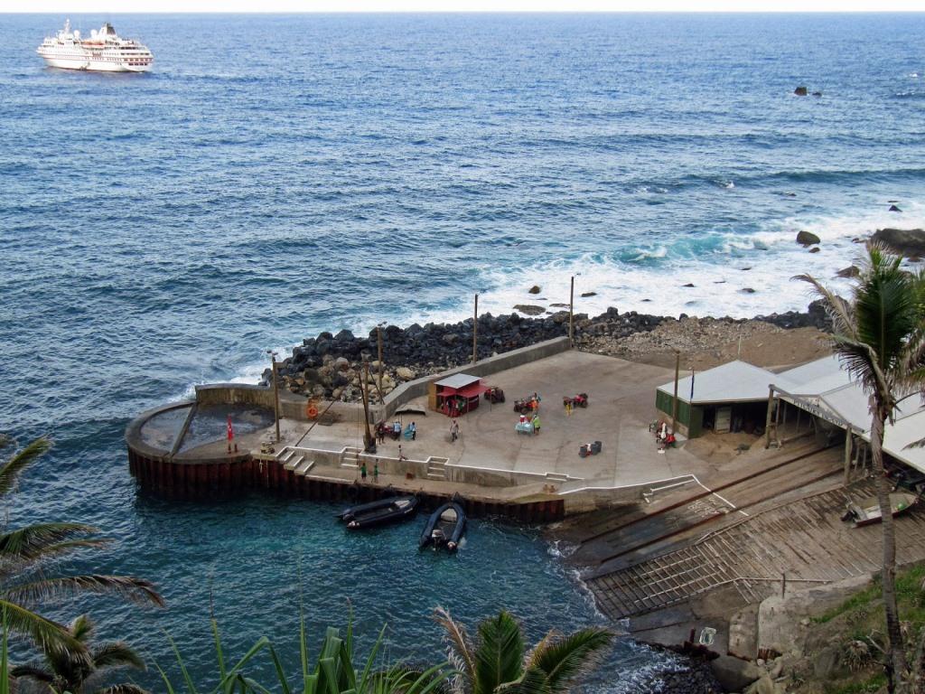 Pitcairn_Anlegestelle