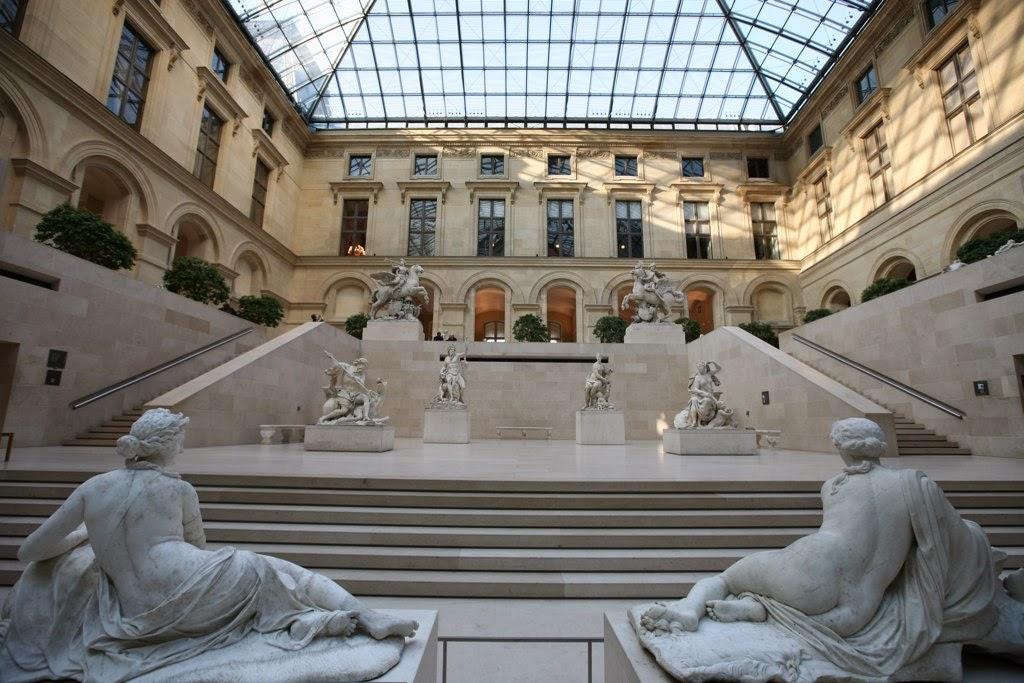 The Louvre, Paris - Tourist Destinations