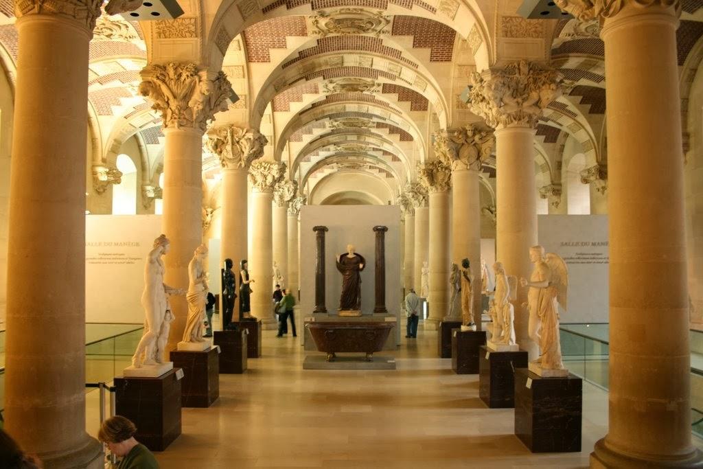 The Louvre Paris Tourist Destinations