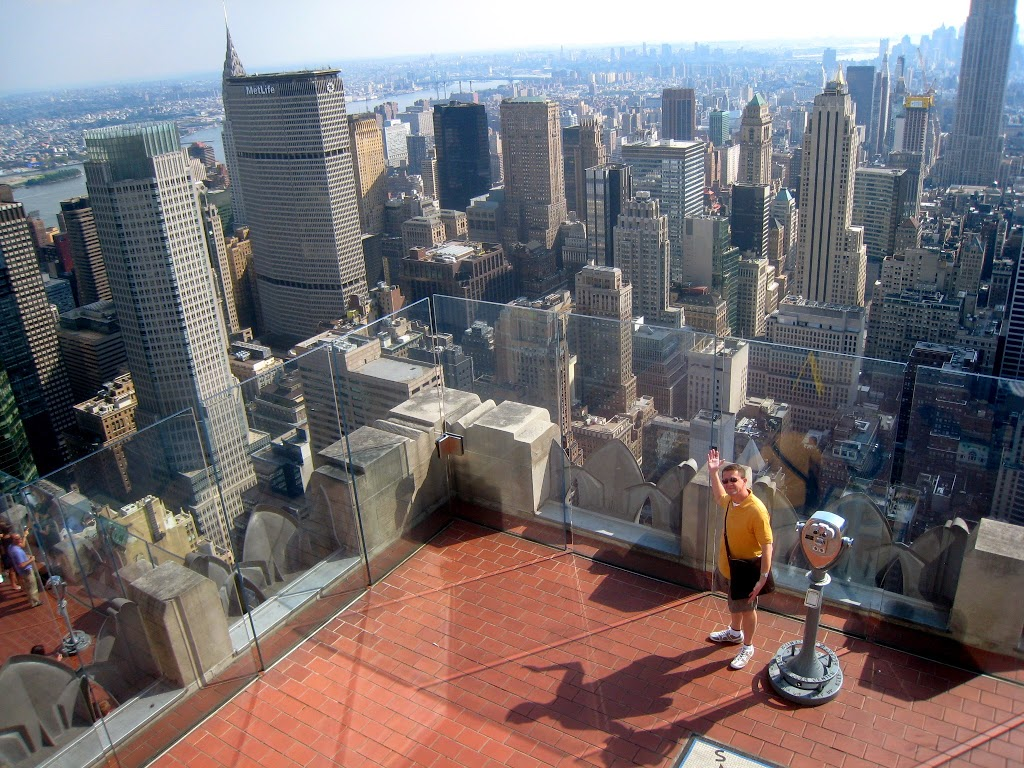 Top of the rock observation deck new york city tourist for The best of nyc