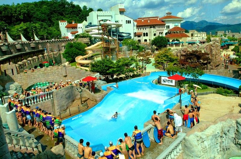 Everland Kyonggi Do South Korea Tourist Destinations