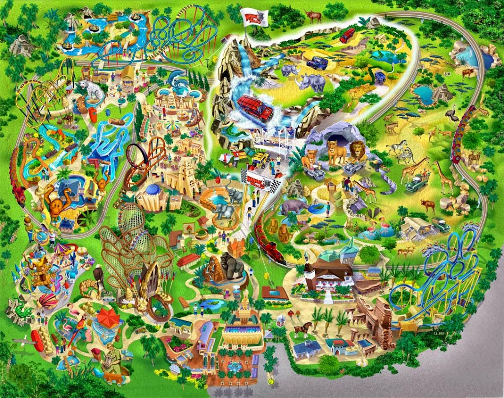 Busch Gardens Tampa Bay Usa Tourist Destinations