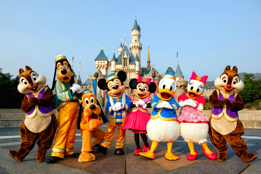Adult disney land in asia
