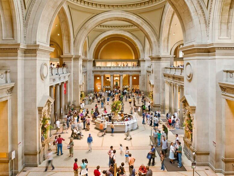 Metropolitan Museum of Art in New York, USA - Tourist Destinations