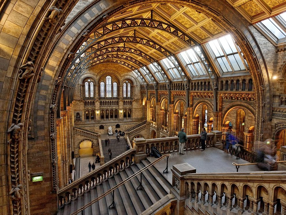 Natural History Museum in London, England - Tourist