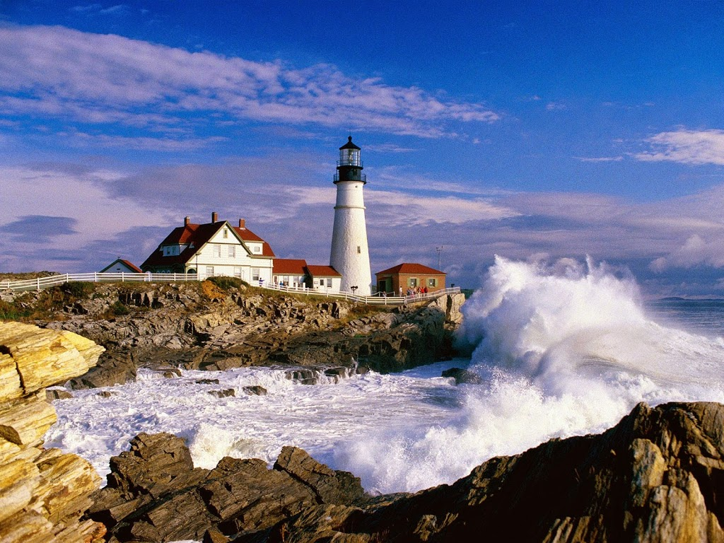 Maine new england tourist destinations
