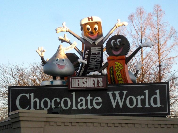 Pennsylvania chocolate worls