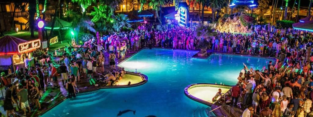 South Padre Island pool parties