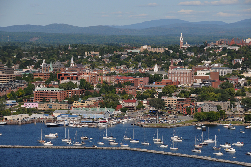 Lake Champlain Burlington, Vermont.