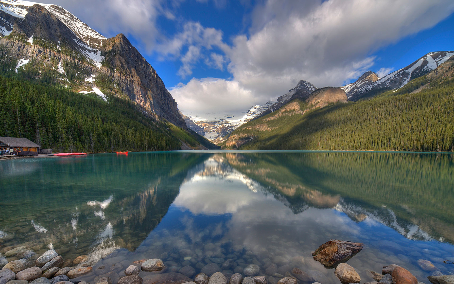 Lake louise banff canada tourist destinations for Stone mountain fishing