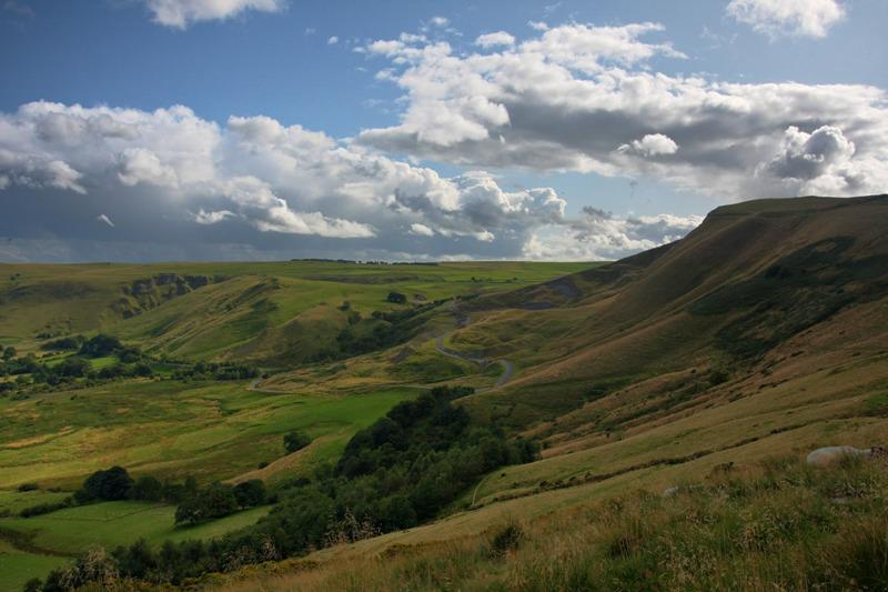 Mam Tor The Peak District, England