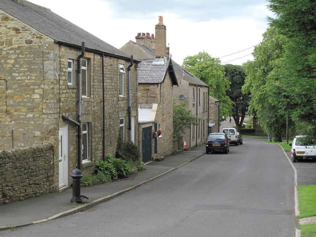 Street scene Allendale Northumberland England