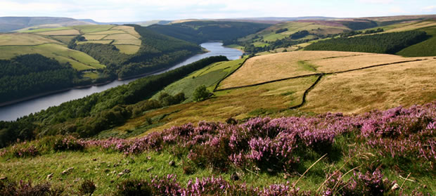 The Peak District  England