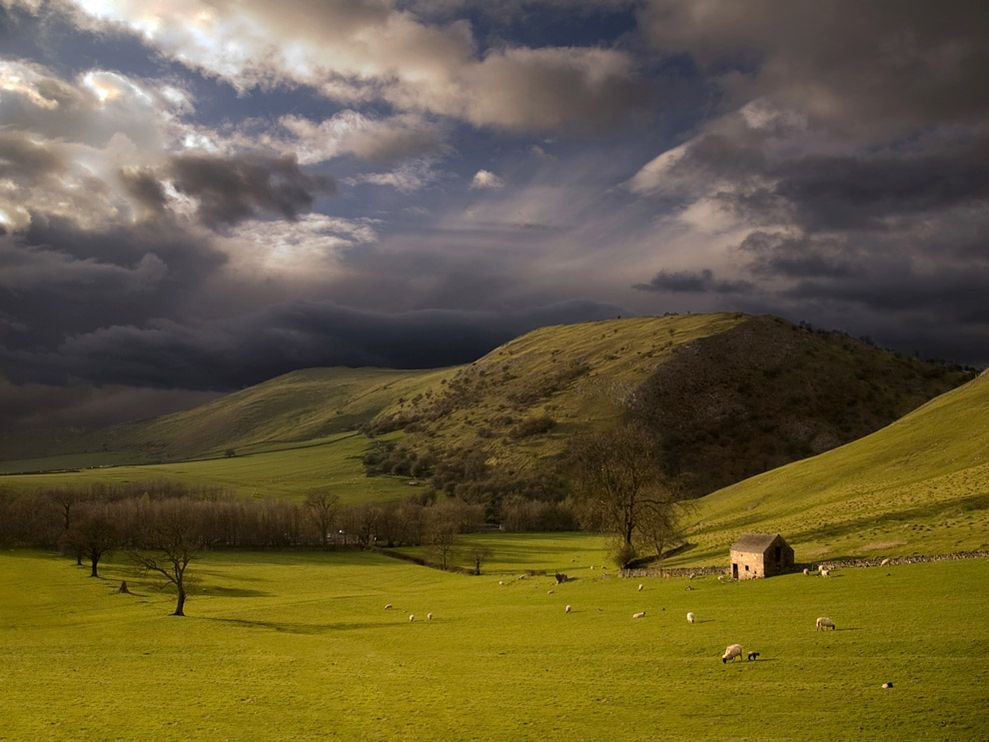 The Peak District, England