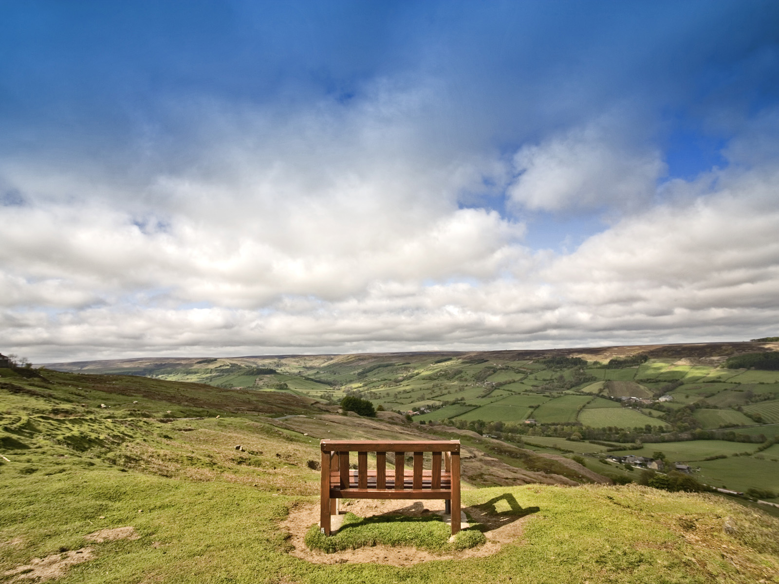 View of North Yorkshire Moors