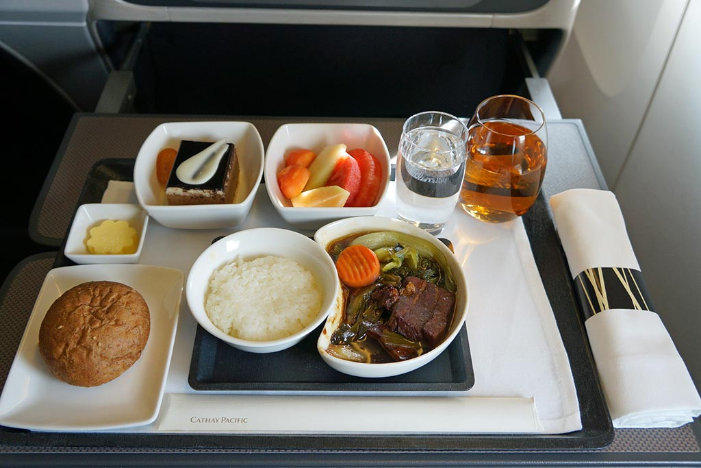 Cathay Pacific Best Airlines for Food