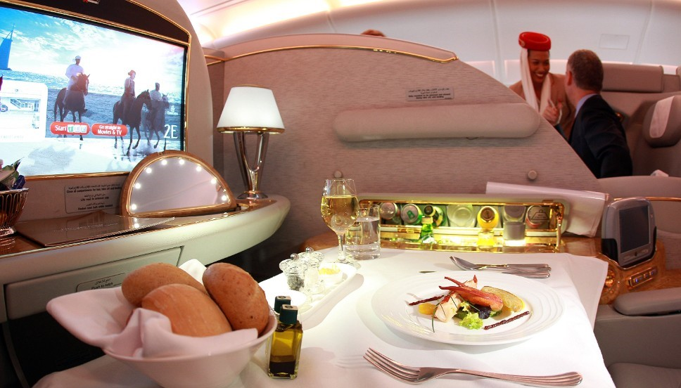 Emirates Airways Best Airlines for Food