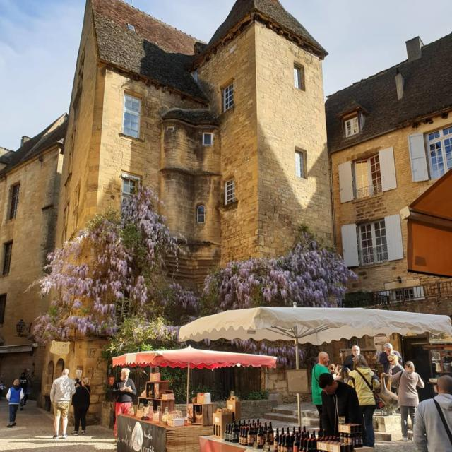 Sarlat-la-Canéda, France - Romantic, medieval France in one